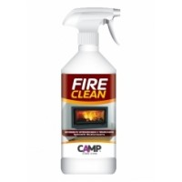 DETERGENTE SGRASSANTE PER TERMOCAMINI CAMP FIRE CLEAN IN CONFEZIONE SPRAY DA 750ML..
