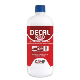DECAL PRO CAMP 1 LT DISINCROSTANTE ACIDO PROFESSIONALE 1044001